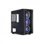 Boitier Gaming RGB+Bloc Alimentation 600w CMC-GS40RGB2
