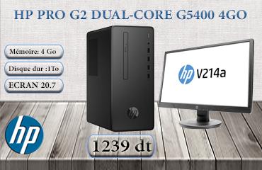 PC DE BUREAU HP PRO G2 DUAL