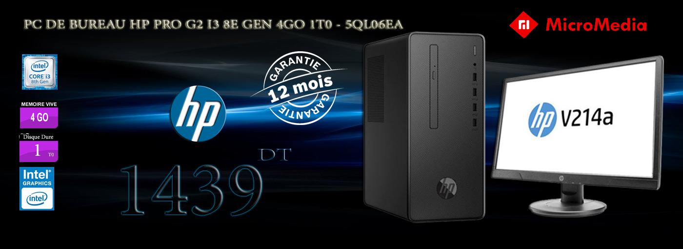 HP PRO G2 I3 8E GNE