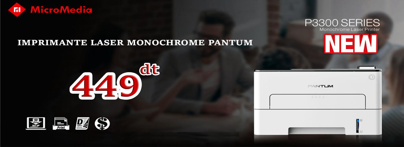 IMPRIMANTE LASER MONOCHROME PANTUM P3300DN